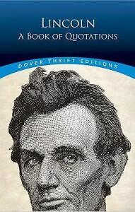 Lincoln-A-Book-of-Quotations-by-Blaisdell-Bob-Paperback
