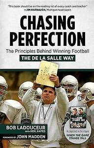 Chasing Perfection Principles Behind Winning Football de by Ladouceur Bob