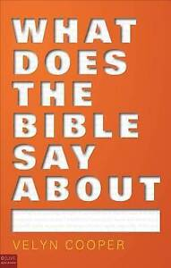 What Does the Bible Say About... by Cooper, Velyn -Paperback
