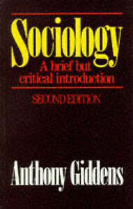Sociology-A-brief-but-critical-introduction-Giddens-Anthony-Very-Good-Book