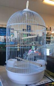 Small white bird cage Cabramatta West Fairfield Area Preview