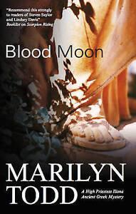 """VERY GOOD"" Todd, Marilyn, Blood Moon (High Priestess Iliona Greek Mysteries), B"