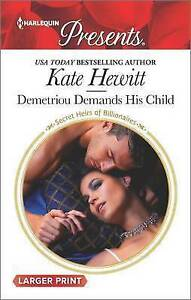 Demetriou Demands His Child by Hewitt, Kate 9780373139415 -Paperback