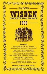20 x Wisden Cricketers' Almanack: 1999