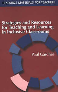 Strategies and Resources for Teaching and Learning in Inclusive-ExLibrary