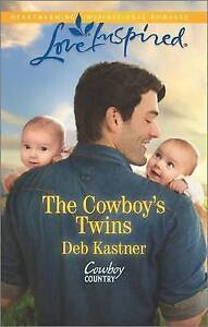 The Cowboy's Twins (Cowboy Country)-ExLibrary