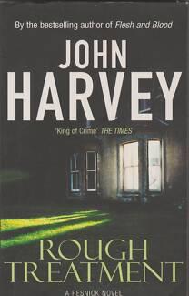 ROUGH TREATMENT (Resnick #2) John Harvey ~ Like New SC 2002