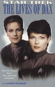 STAR TREK Lives of Dax Paperback Book Deep Space Nine