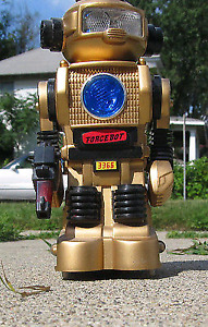 1985 Forcebot Retro 80s Toy Electronic Robot