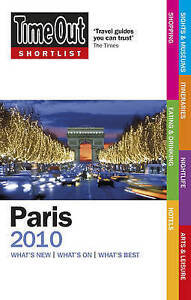 Very Good, Time Out Shortlist Paris 2010, Time Out Guides Ltd, Book