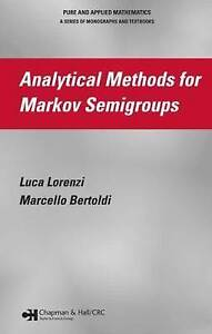 Analytical Methods for Markov Semigroups (Chapman & Hall/CRC Monographs and Rese