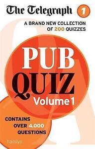 Telegraph: Pub Quiz: Volume 1, The Telegraph Media Group