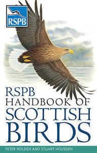 RSPB Handbook of Scottish Birds, Good Condition Book, Stuart Housden, Peter Hold