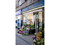 Williamson Design Florist Corstorphine are looking for a part time florist assistant
