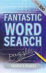 Fantastic Wordsearch: People & Places by Parragon Publishing (Spiral bound,...