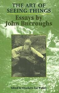 The-Art-of-Seeing-Things-by-Burroughs-John-Paperback