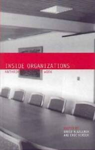NEW Inside Organizations: Anthropologists at Work