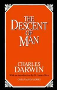 The Descent of Man (Great Minds Series)-ExLibrary