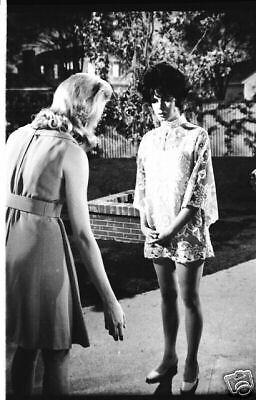 Bewitched Elizabeth Montgomery On Set Serena Double 1967 Abc Tv Photo Negative