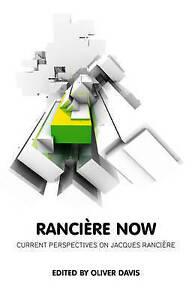 Ranciere Now, Oliver Davis