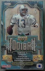 1992 UPPER DECK FOOTBALL SERIES 2 - WAX BOX