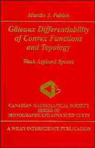 Gâteaux Differentiability of Convex Functions and Topology, Marián J.