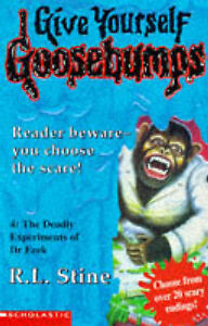 The-Deadly-Experiments-of-Dr-Eeek-Give-Yourself-Goosebumps-Good-Condition-Boo