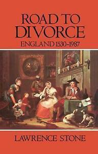 USED-VG-Road-to-Divorce-England-1530-1987-by-Lawrence-Stone