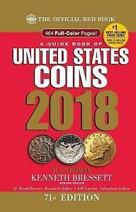 A Guide Book of United States Coins 2018: The Official Red Book,  9780794845070