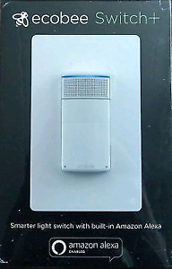 BRAND NEW SEALED ECOBEE SWITCH+ WITH BUILT IN ALEXA