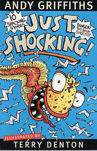 JUST SHOCKING! - Andy Griffiths - NEW Paperback - FREE SHIP in Australia