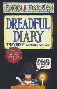 Dreadful Diary Horrible Histories Deary Terry Very Good Book - Consett, United Kingdom - Dreadful Diary Horrible Histories Deary Terry Very Good Book - Consett, United Kingdom