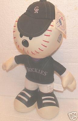 (Colorado Rockies Plush Baseball Guy! BRAND NEW!)