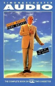new-in-sealed-pack-Steve-Martin-Pure-Drivel-Audio-Book-Out-of-Print-2-Cassettes