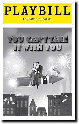 Playbill You Can't Take It With You Anna Chlumsky Richard Thomas James EarlJones