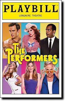 The Performers Playbill  Cheyenne Jackson  Henry Winkler Alicia Silverstone 2012