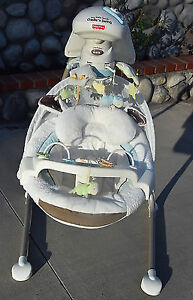 Fisher price little lamb cradle and swing