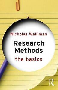 Research Methods: The Basics by Nicholas Walliman (Paperback, 2010)