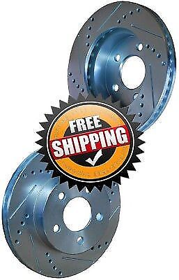 Ford Contour 95-97 Drill Slot Brake Disc Rotors FRONT