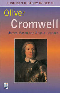 Oliver Cromwell and the Civil War (Longman History in Depth)-ExLibrary