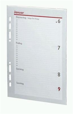 bsb Kalendarium Timer ca A5 20,9x14,6cm 1Woche/2Seite 2017 Kalendereinlagen