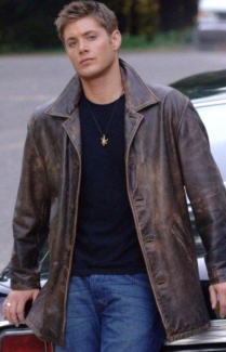 Supernatural Dean Winchester Distressed Real Leather Jacket