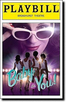 Color Playbill Baby It's You! Beth Leavel  Brandon Uranowitz  Kelli Barrett 2011