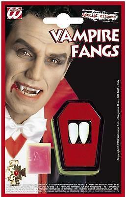 VAMPIR ZÄHNE ECKZÄHNE Halloween Kostüm Vampir Dracula (Kostüm Vampir Zähne)