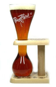 NEW PAUWEL KWAK BELGIUM BEER GLASS .3L (GLASSES)