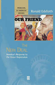 The New Deal (Problems in American History)-ExLibrary