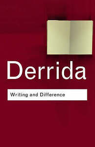 Writing and Difference by Jacques Derrida (Paperback, 2001)
