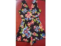 Ladies summer dress playsuit jumpsuit size 8