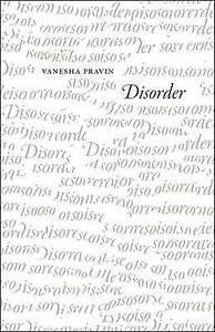 Disorder by Pravin, Vanesha -Paperback