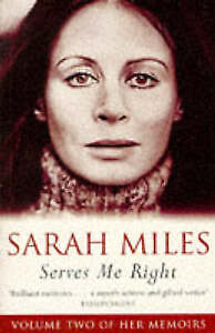 Serves Me Right, Miles, Sarah   Paperback Book   Acceptable   9781857998184